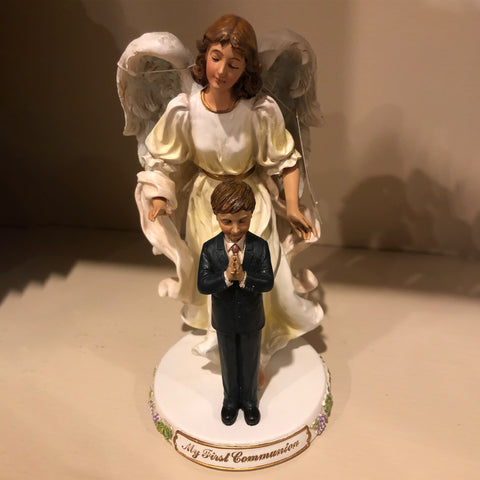 Communion Angel and Praying Boy