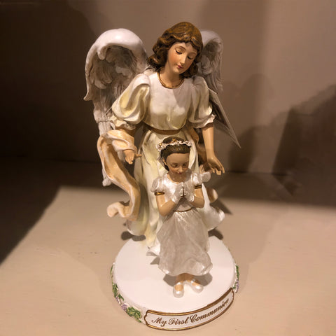 Communion Angel and Praying Girl