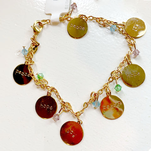 Peace and Joy Bracelet