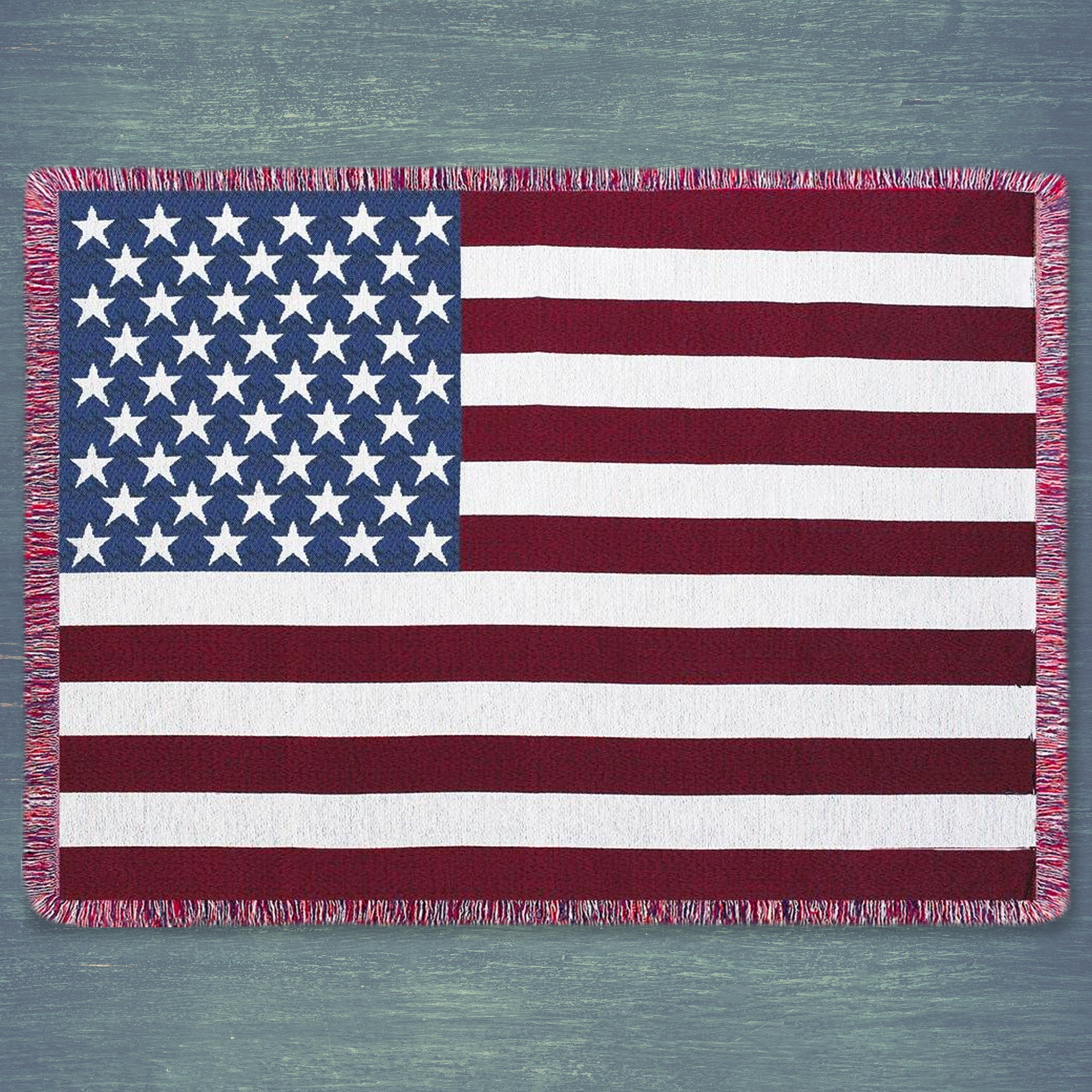 Stars and Stripes Throw