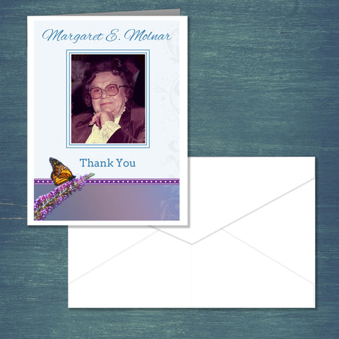 REORDERS ONLY- Premium Thank You Cards (Pack of 25)