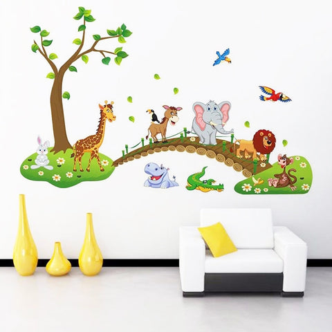 Zoo Pattern Decal