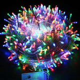 Fairy LED String Light Outdoor Waterproof AC220V Holiday String Garland For Xmas Christmas Wedding Party