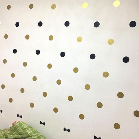 Polka Dots circles Removable Vinyl Wall Stickers