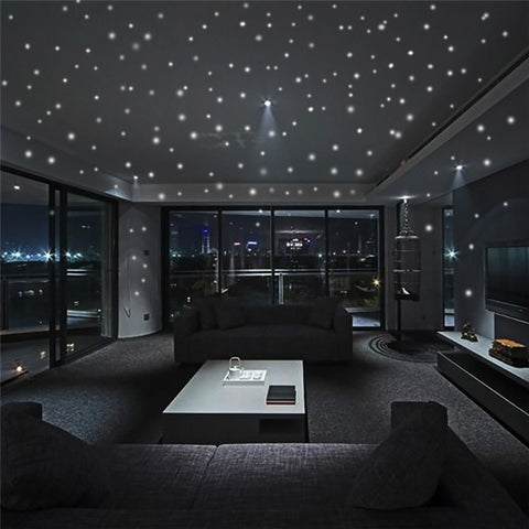 Glow In The Dark Star Wall Stickers