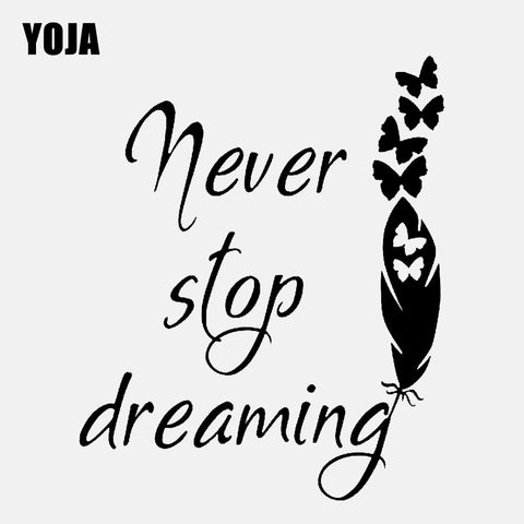 """Never Stop Dreaming"""