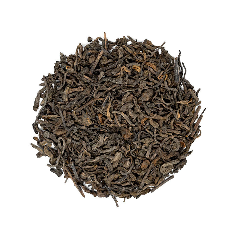 #2 Pu'erh Tea - Premium Loose Leaf Pu'erh Tea (4 oz) - Medium Caffeine - Classic & Earthy
