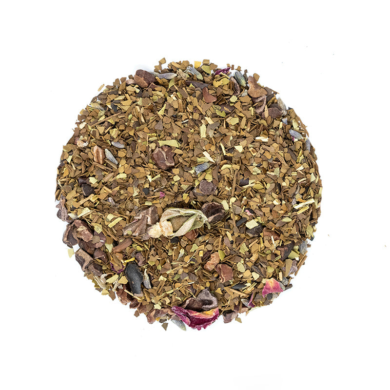 #9 Mate - Premium Loose Leaf Herbal Tea (4 oz) - High Caffeine - Bold and Herbaceous - USA Hand Packaged - 60 Cups