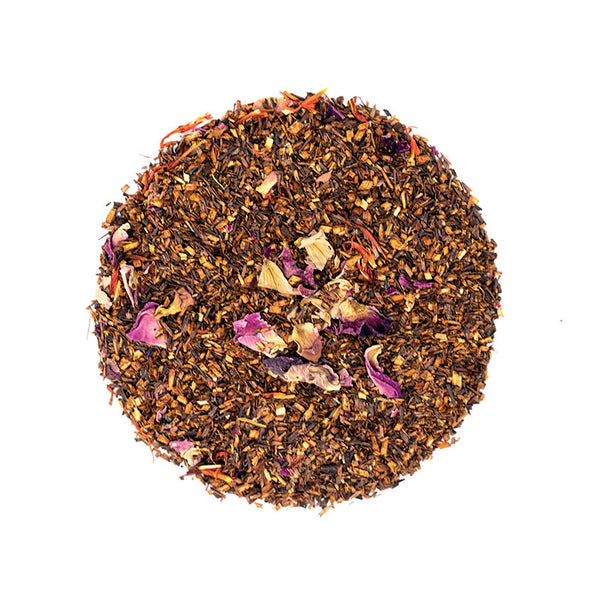 African Rose Tea - Premium Loose Leaf Herbal Tea (4 oz) - Caffeine Free - Earthy and Smooth - 60 Cups
