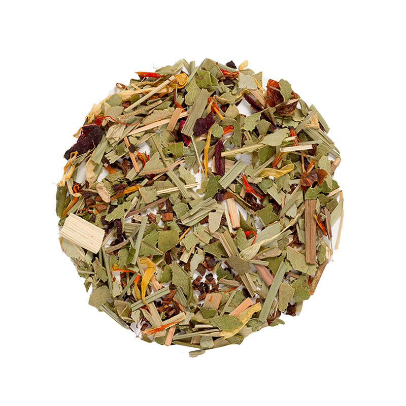 African Summer Tea - Premium Loose Leaf Herbal Tea (4 oz) - Caffeine Free - Earthy and Smooth - 60 Cups