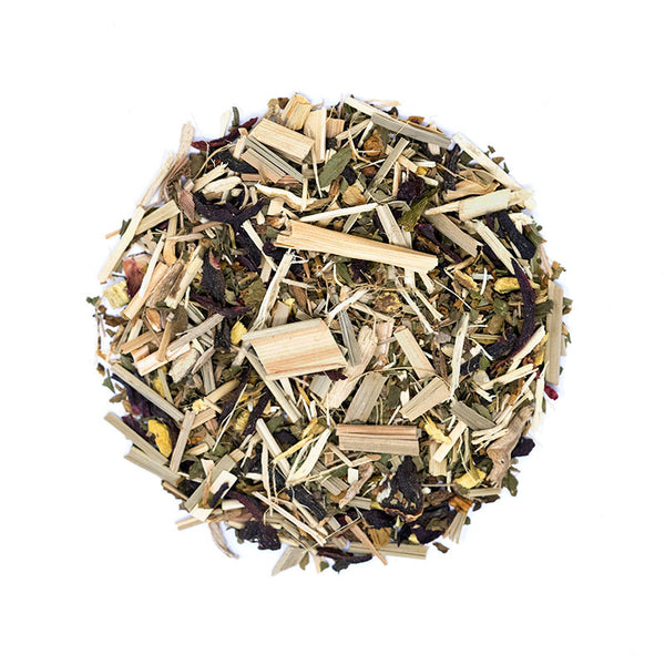 After Noon Delight Tea - Premium Loose Leaf Herbal Tea (4 oz) - Caffeine Free - Ginseng, Lemon, Licorice - 60 Cups