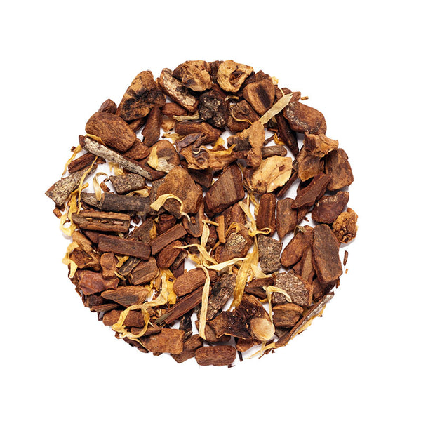 Apple Cinnamon Herbal - Premium Loose Leaf Herbal Tea (4 oz) - Caffeine Free - Spiced Flavor - 60 Cups