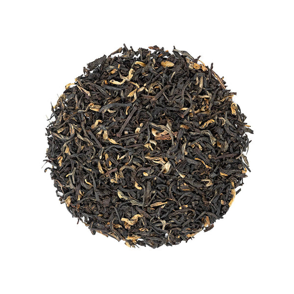 Assam Black FTGFOP - Premium Loose Leaf Black Tea (4 oz) - High Caffeine - Bold Classic Black Tea - USA Hand Packaged - 60 Cups