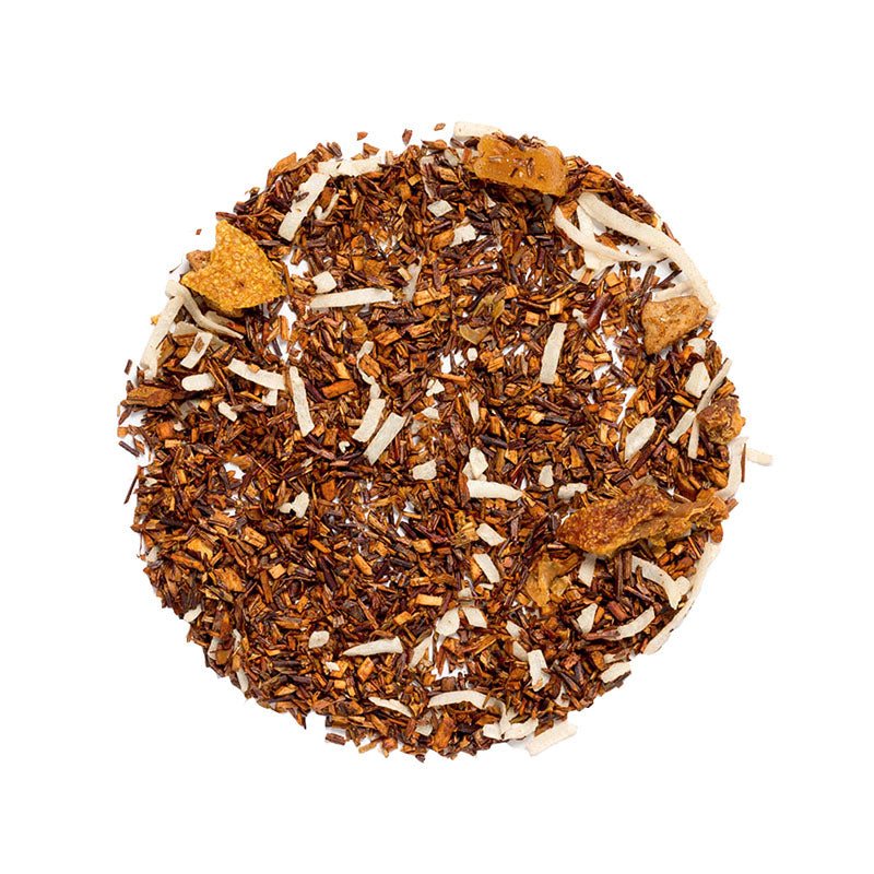 Banana Delight Tea - Premium Loose Leaf Herbal Tea (4 oz) - Caffeine Free - Sweet and Earthy - 60 Cups