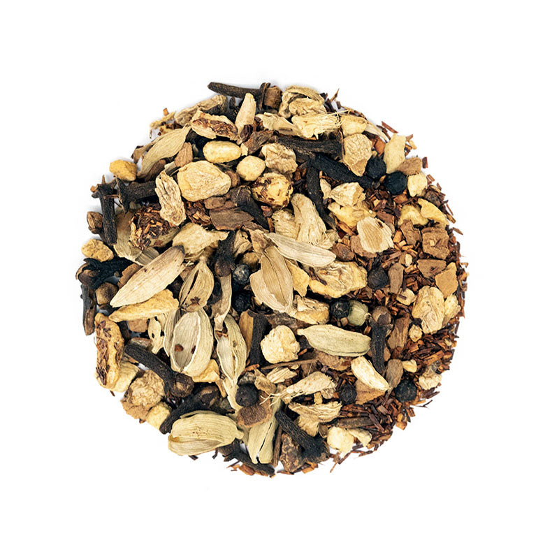 Bengal Chai Herbal Tea - Premium Loose Leaf Herbal Tea (4 oz) - Caffeine Free - Bold & Smooth