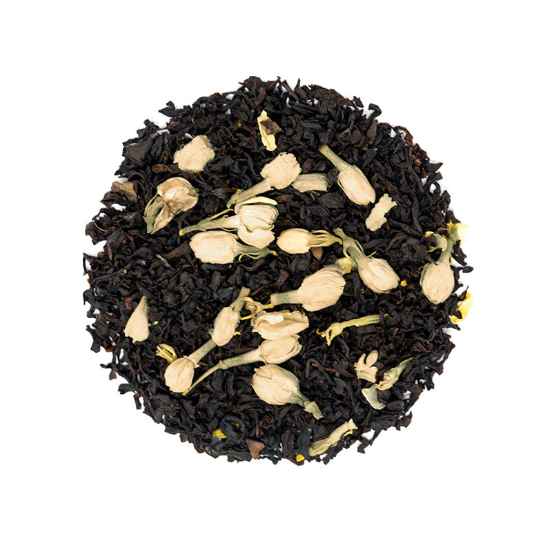 Black Caramel - Premium Loose Leaf Black Tea (4 oz) - High Caffeine - Sweet and Rich - USA Hand Packaged - 60 Cups