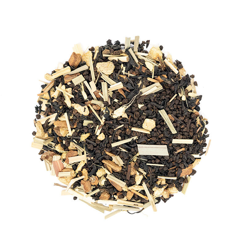 Chai Zip Tea - Premium Loose Leaf Black Tea (4 oz) - High Caffeine - Bold & Sweet