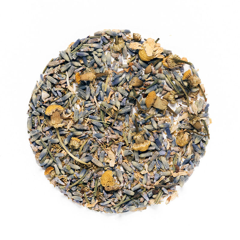 Chamomile Lavender Tea - Premium Loose Leaf Herbal Tea (4 oz) - Caffeine Free - Clean Blend