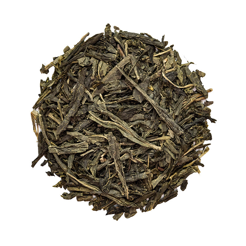 Chinese Sencha Green Tea - Premium Loose Leaf Green Tea (4 oz) - High Caffeine - Simple and Elegant - 60 Cups