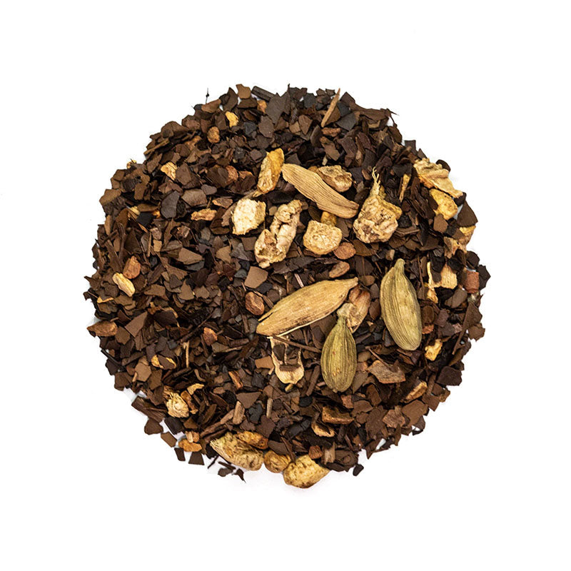 Chino Mate Tea - Premium Loose Leaf Herbal Tea (4 oz) - High Caffeine- Spiced Blend