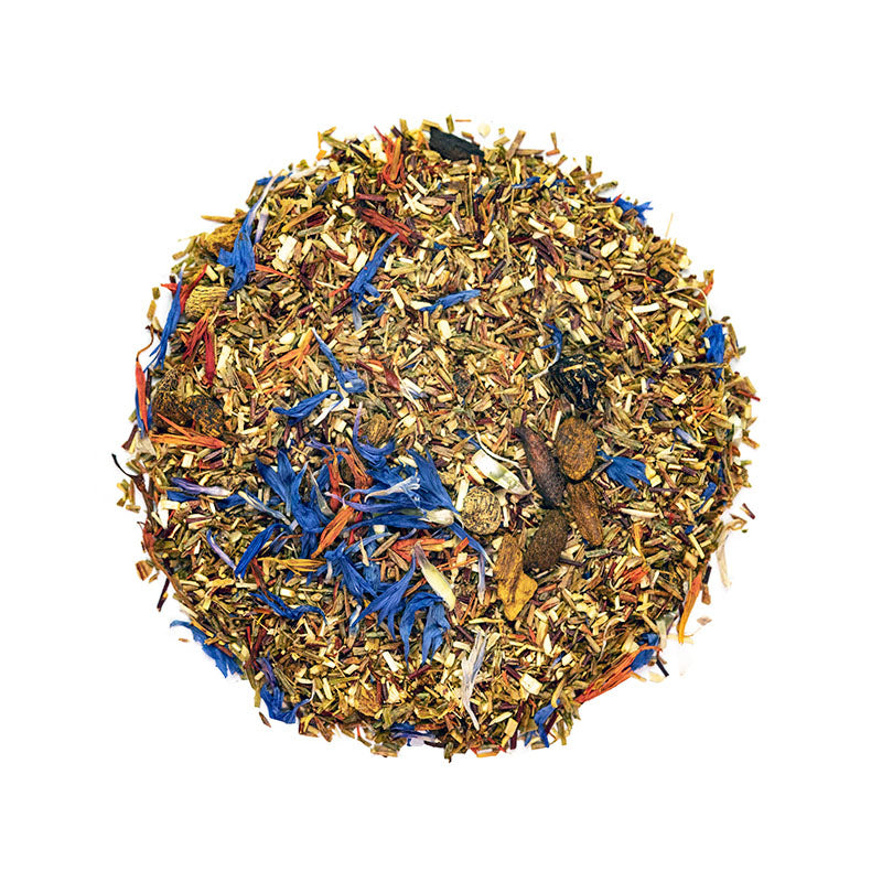 Green Berry Delight Tea - Premium Loose Leaf Herbal Tea (4 oz) - Caffeine Free - Earthy & Sweet