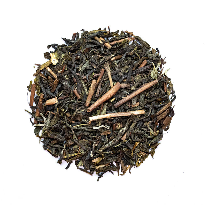 Green Harmony Tea - Premium Loose Leaf Green Tea (4 oz) - High Caffeine - Sweet & Smokey