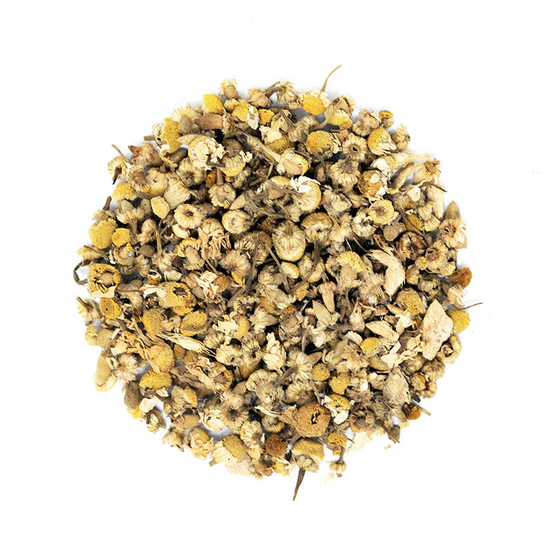 Honey Ginger Chamomile Tea - Premium Loose Leaf Herbal Tea (4 oz) - Caffeine Free - Healthy Blend