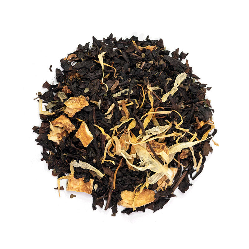 Morning's Oolong Tea - Premium Loose Leaf Oolong Tea (4 oz) - Low Caffeine - Lemon & Basil