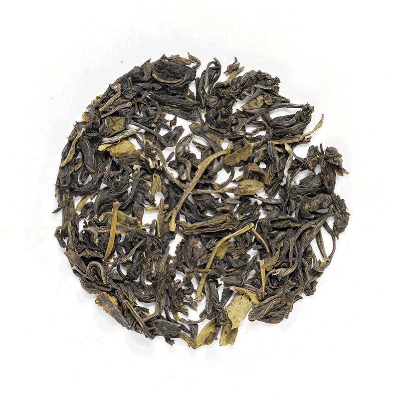 Bitaco Green Tea - Premium Loose Leaf Green Tea (4 oz) - High Caffeine - Sweet & Nutty