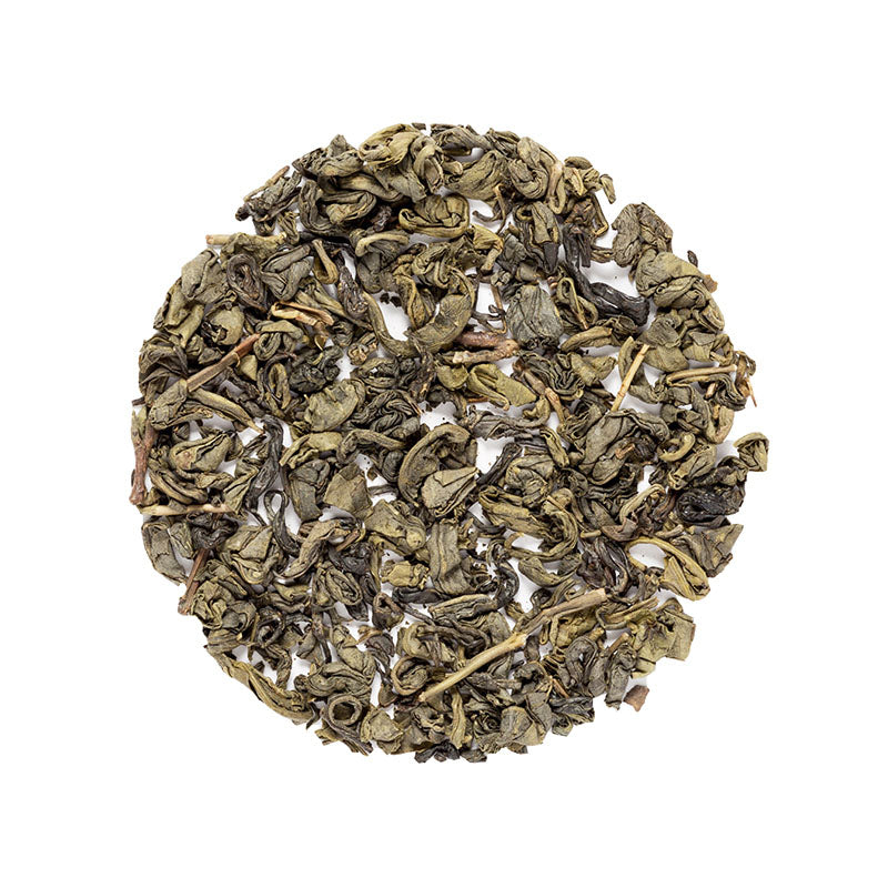 Pinhead Gunpowder Tea - Premium Loose Leaf Green Tea (4 oz) - High Caffeine - Hint of Nutty Flavor