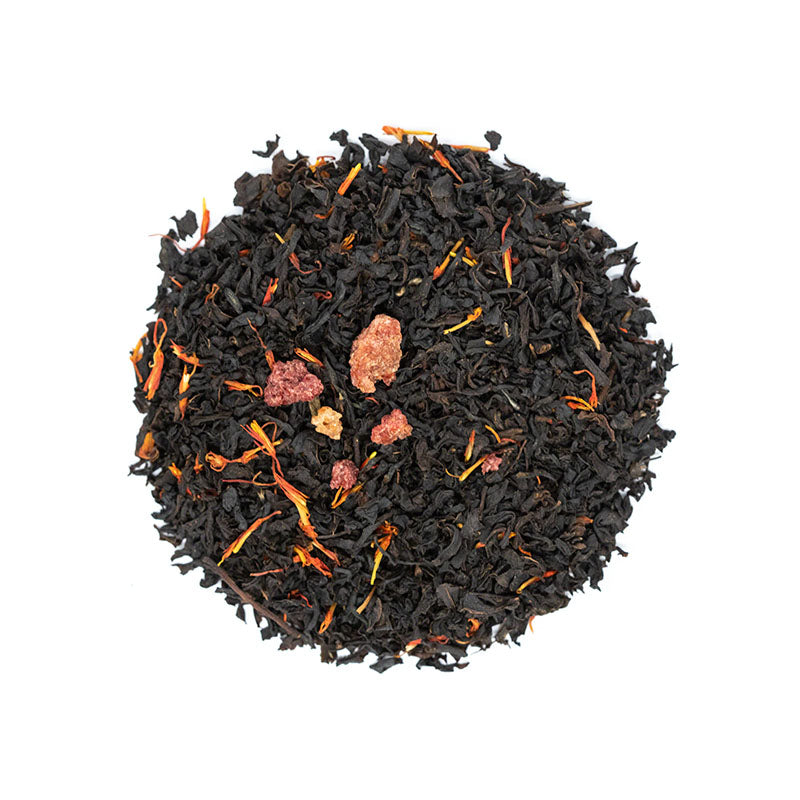 Prickly Pear Black Tea - Premium Loose Leaf Black Tea (4 oz) - High Caffeine - Rich, Unique Flavor
