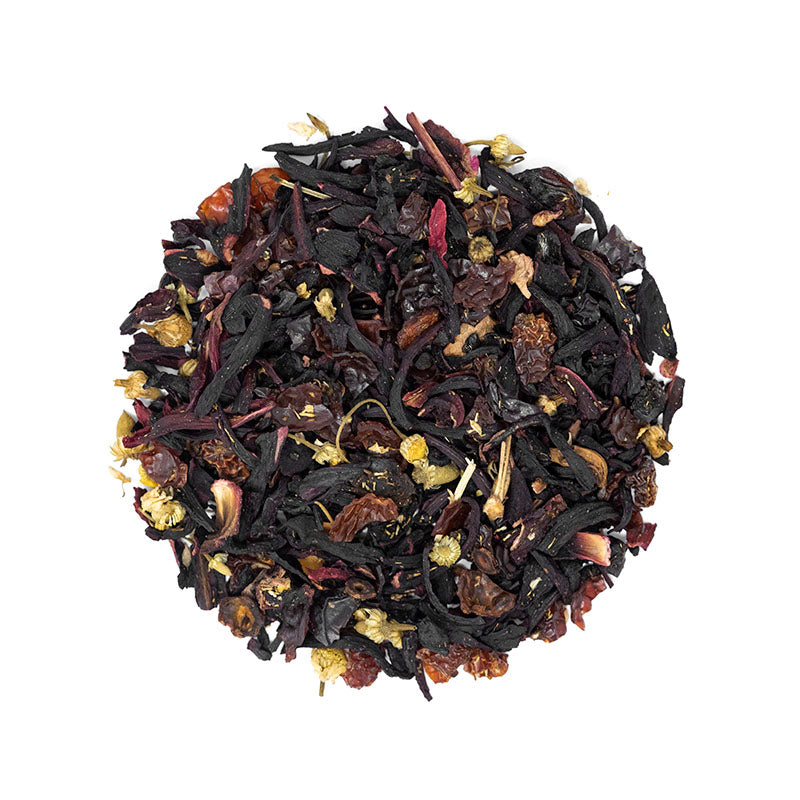 Prickly Pear Herbal Tea - Premium Loose Leaf Herbal Tea (4 oz) - Caffeine Free - Sweet & Dry