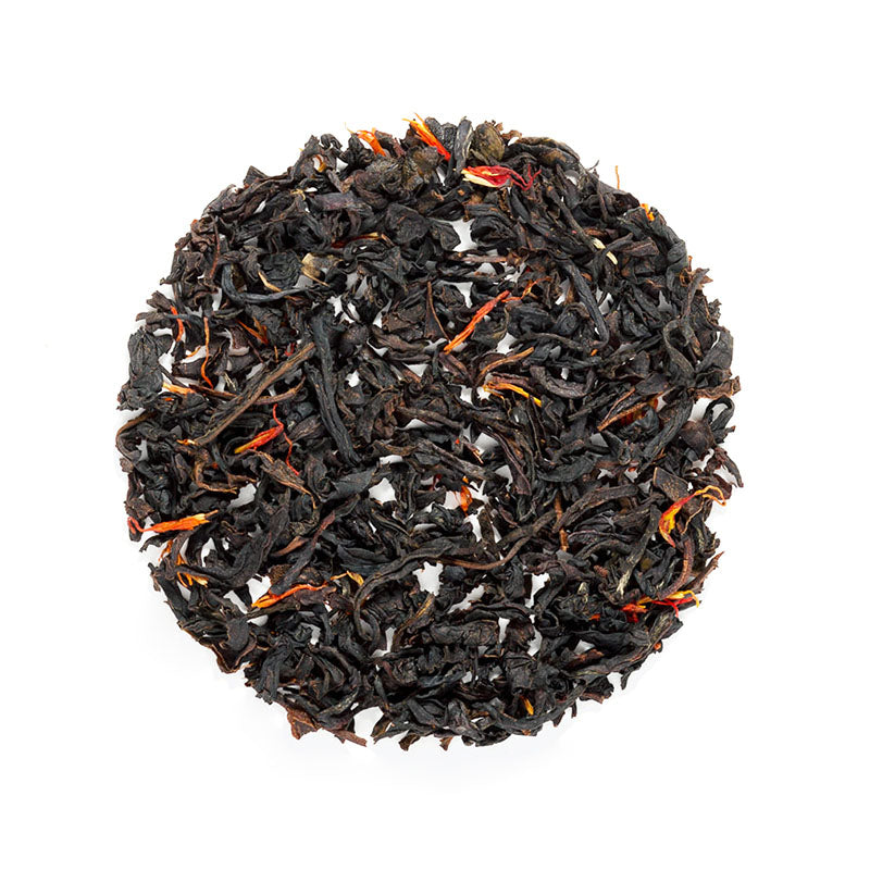 Simple Strawberry Black Tea - Premium Loose Leaf Black Tea (4 oz) - High Caffeine - Rich, Dark Tart