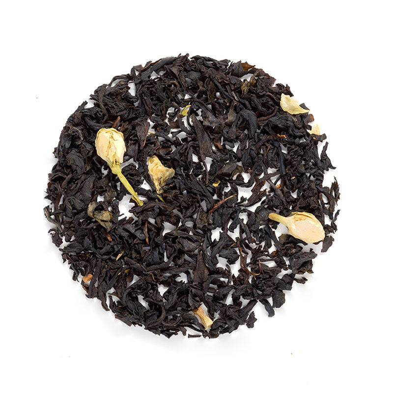 Simple Vanilla Black Tea - Premium Loose Leaf Black Tea (4 oz) - High Caffeine - Sweet & Bold