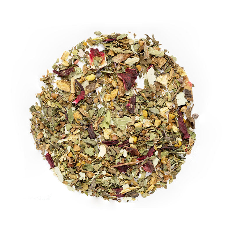 Spring's Relief Tea - Premium Loose Leaf Herbal Tea (4 oz) - Caffeine Free - Soothing & Fresh