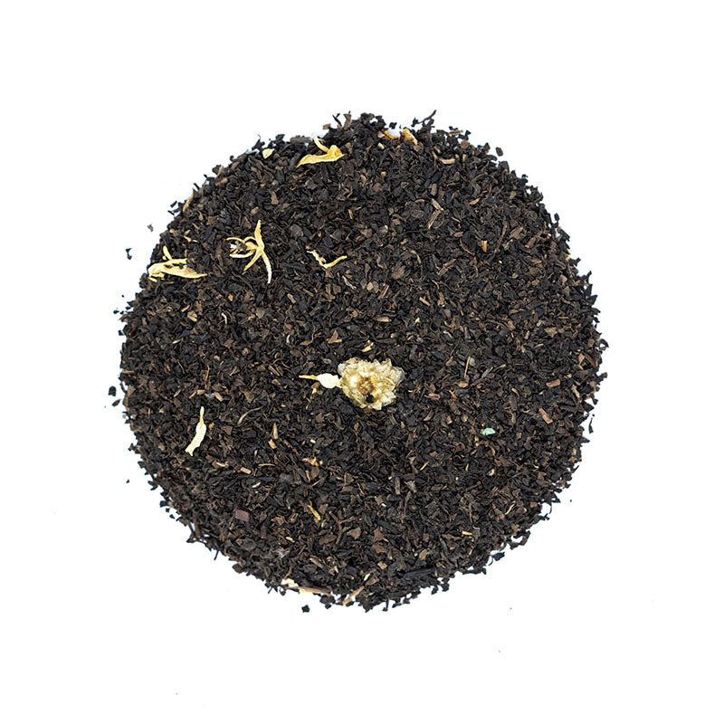 St. Andrew's Blend Tea - Premium Loose Leaf Black Tea (4 oz) - Caffeine Free - English Breakfast Twist - 60 Cups
