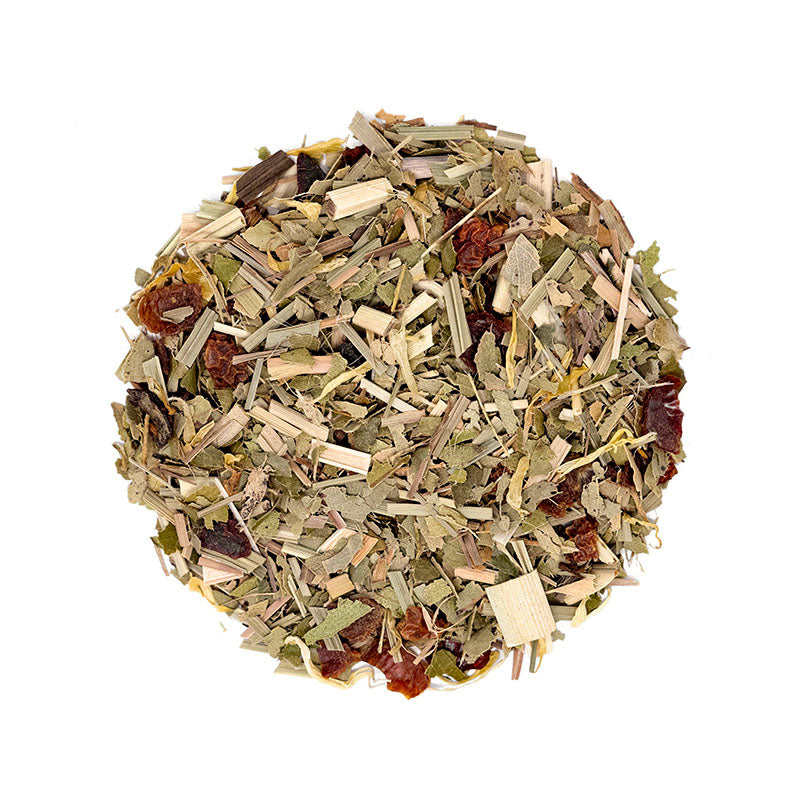 Summer Splash Tea - Premium Loose Leaf Herbal Tea (4 oz) - Caffeine Free - Fresh & Zesty