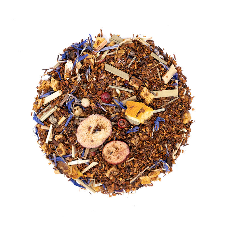 Tropical Herbal Tea - Premium Loose Leaf Herbal Tea (4 oz) - Caffeine Free - Rich & Bold