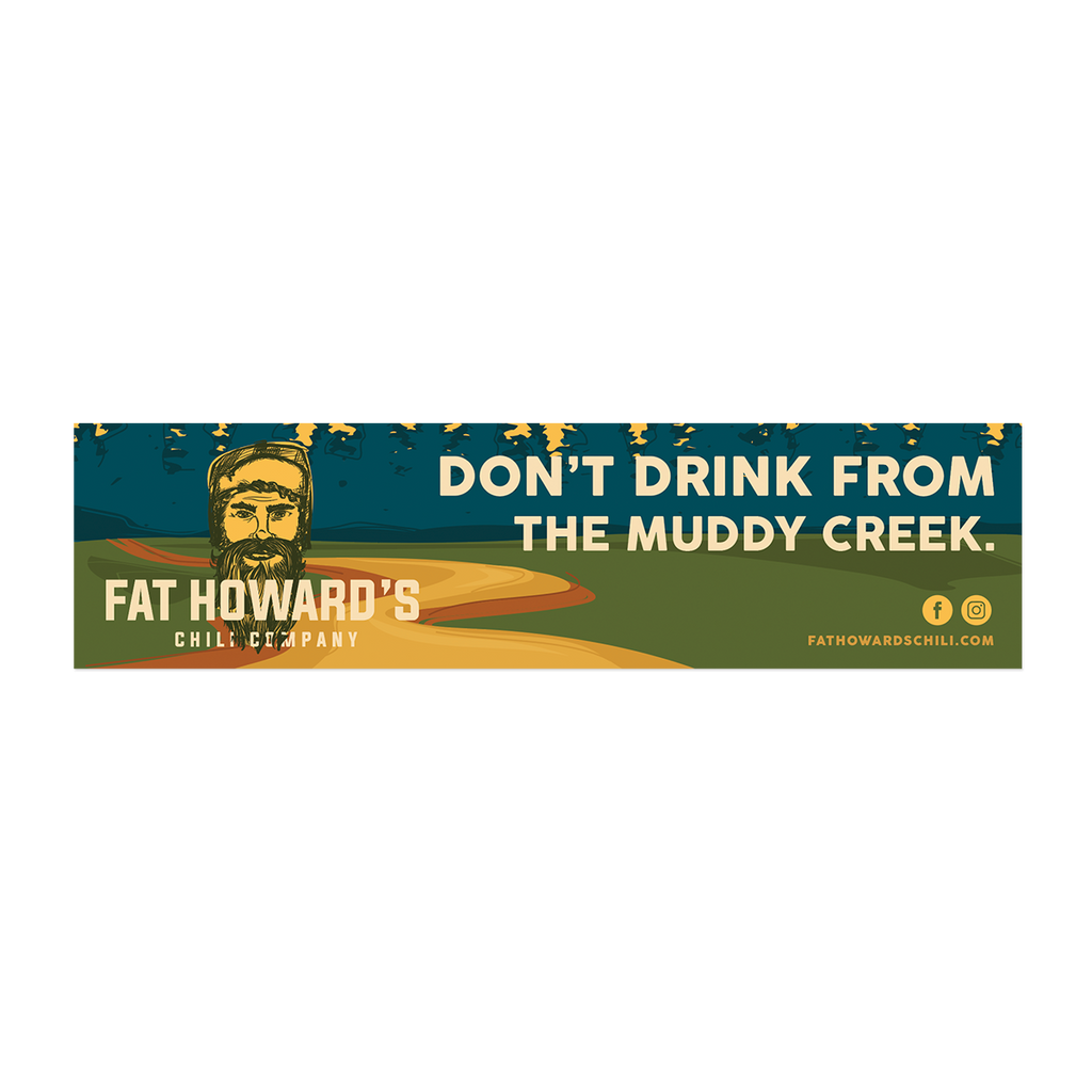 Muddy Creek Bumper Sticker