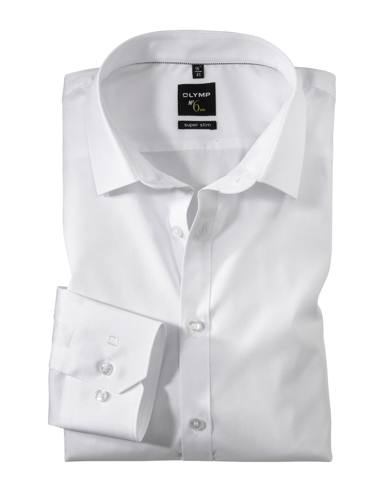 Olymp No 6 Urban Kent Shirt White - Roulette Clothing