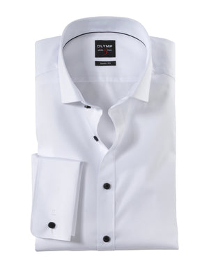 Olymp No 5 Dinner Shirt White - Roulette Clothing