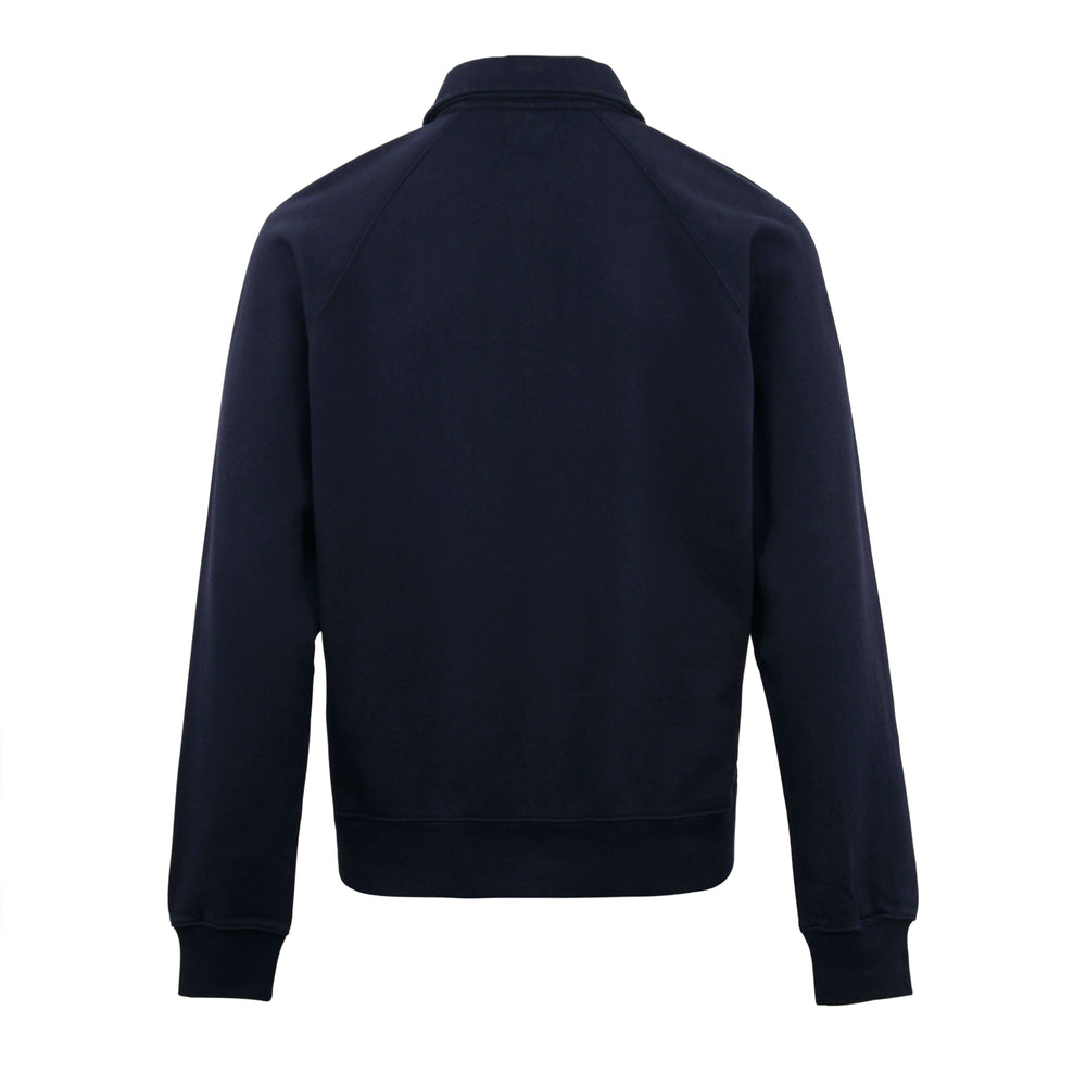 Stussy Polo Zip Fleece Navy - Roulette Clothing