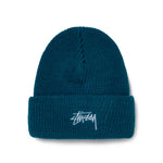 Stussy Stock Cuff Beanie Blue - Roulette Clothing