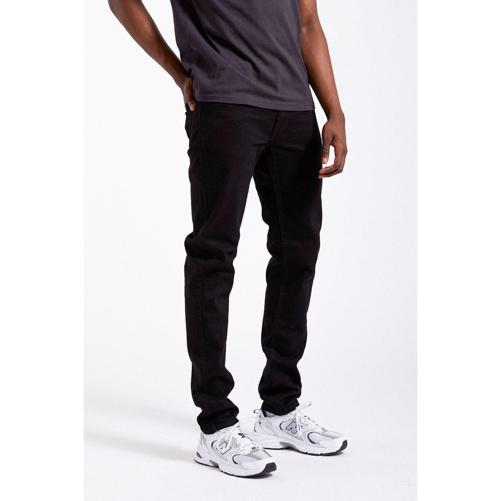 Dr Denim Clark Tapered Jean Black, Mens Jeans available at Roulette Clothing