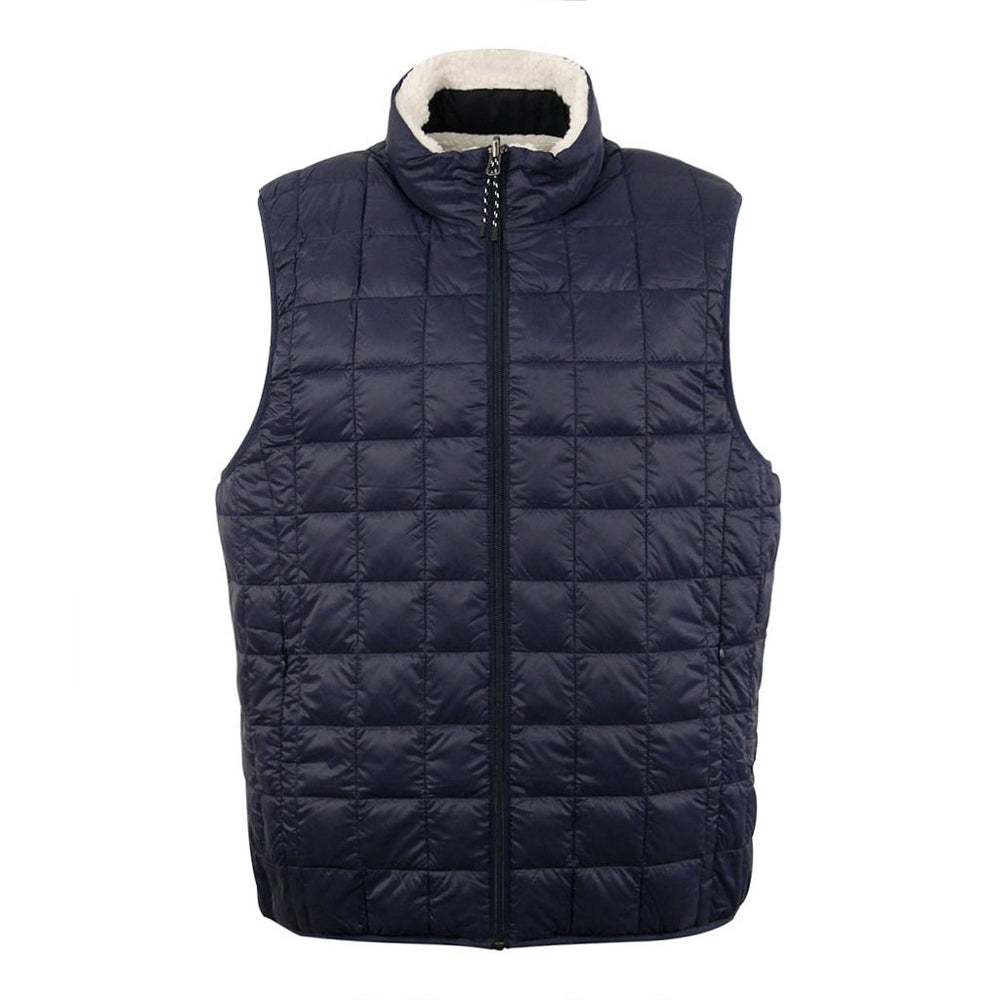 TAION Down x Boa Reversible Vest Navy/Ivory - Roulette Clothing