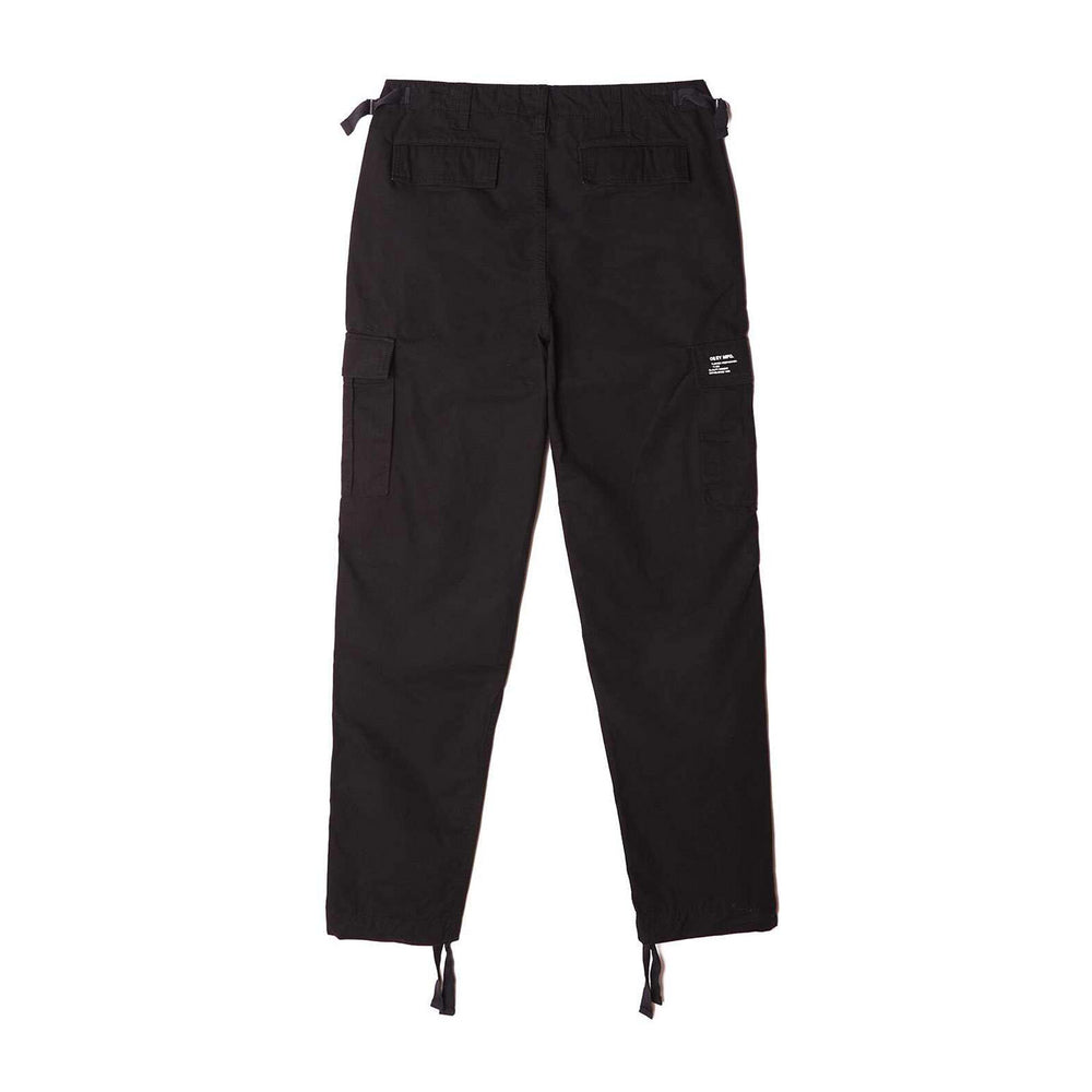 Load image into Gallery viewer, Obey Fatigue Cargo Pant Black, Mens Cargo Pants available at Roulette Clothing