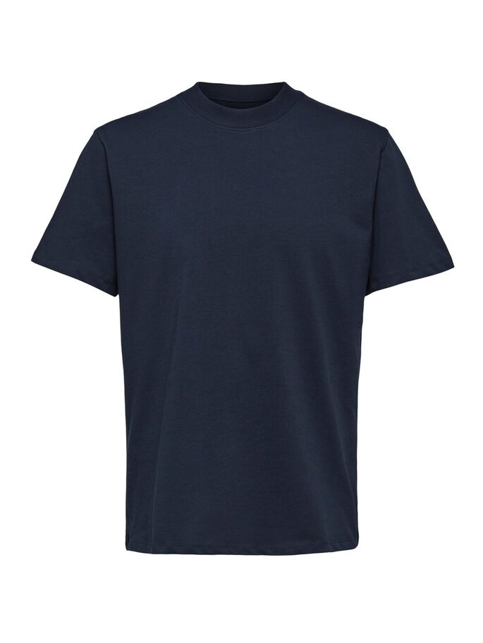 Selected Homme Relax O-Neck Tee Navy - Roulette Clothing