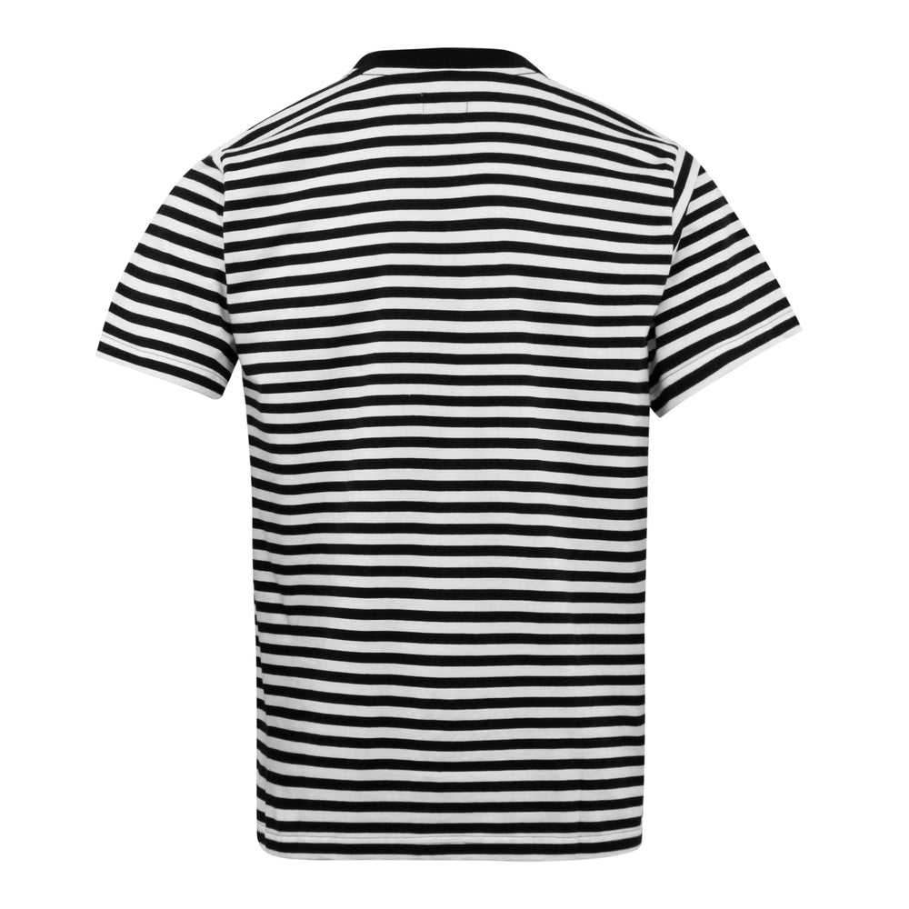 Obey 89 Icon Stripe Box T-Shirt Black - Roulette Clothing