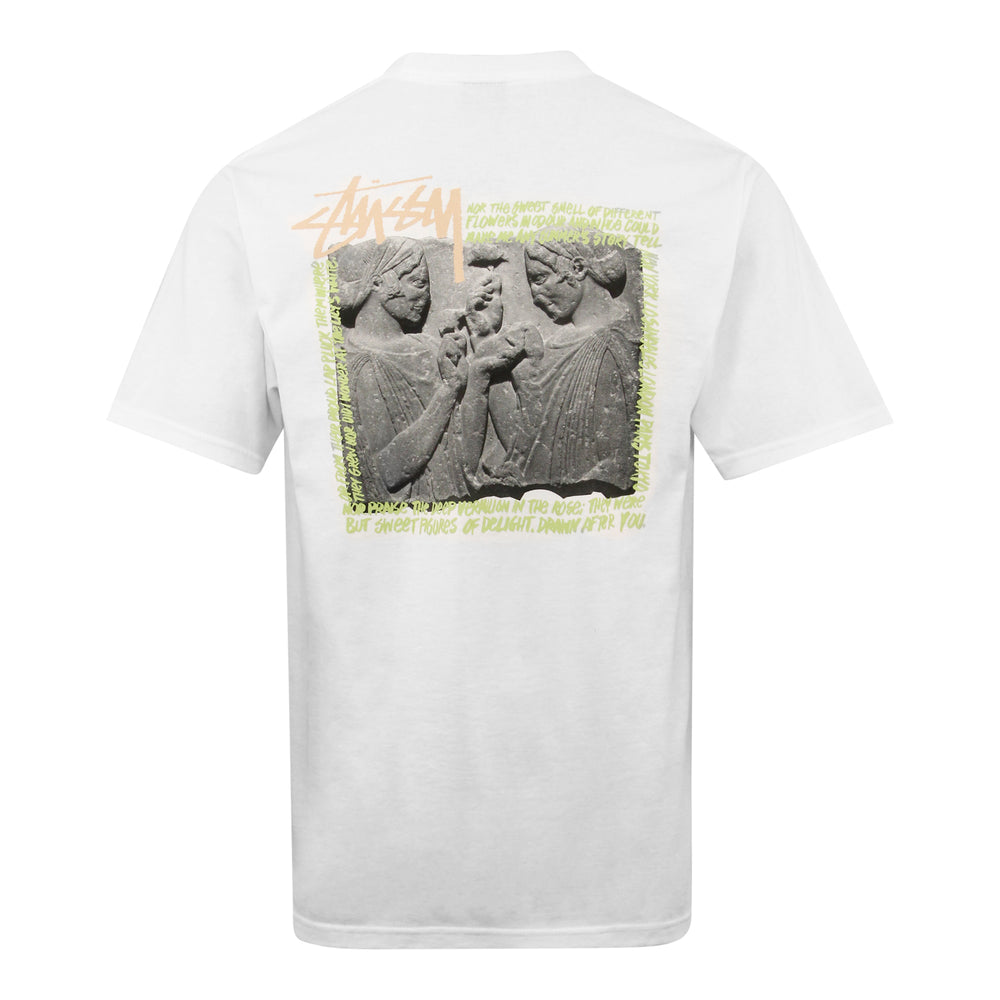 Stussy Elation Tee White - Roulette Clothing