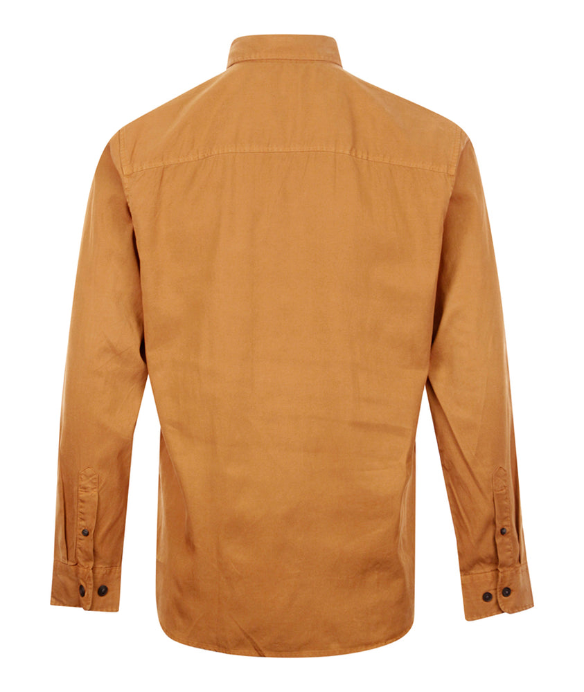 Load image into Gallery viewer, Selected Homme Klay Shirt Rust, Mens Shirts available at Roulette Clothing
